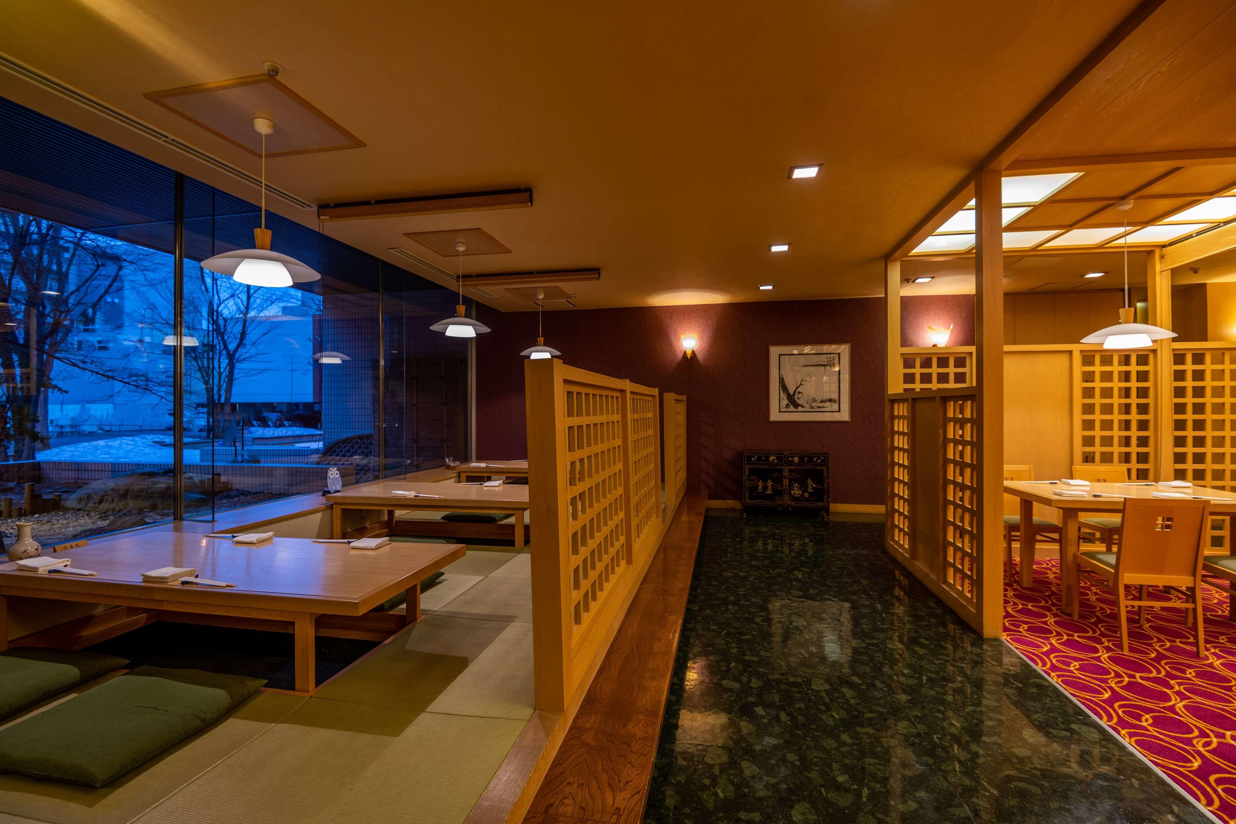 Japanese & Modern Chinese 嵐山の写真 個室