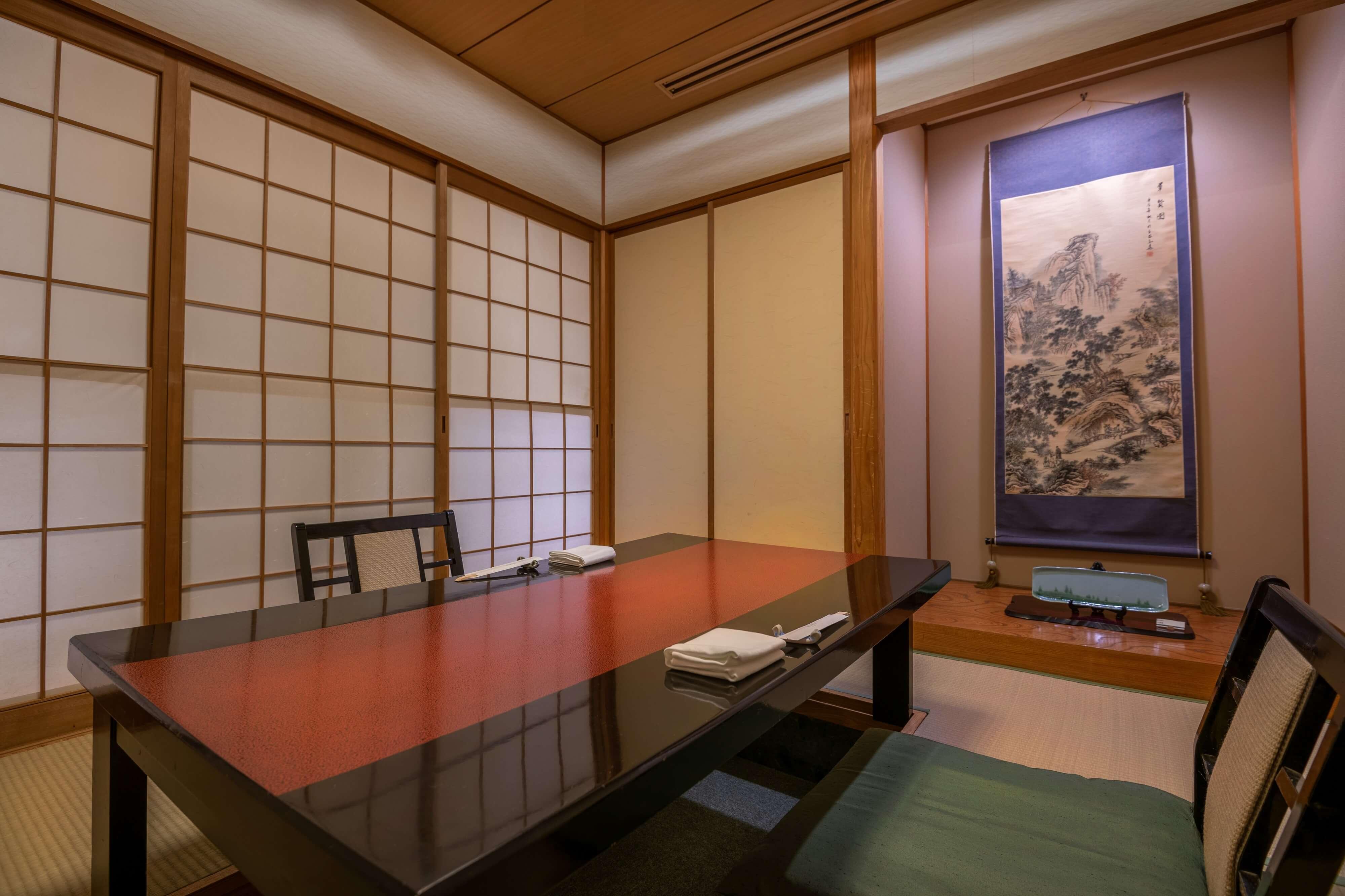 Japanese & Modern Chinese 嵐山の写真 テーブル席2